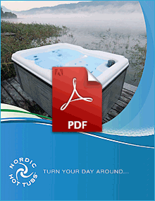 Click to download the Nordic Hot Tubs PDF Brochure