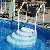 Above ground accessories snyder pools for Top of the line above ground pools