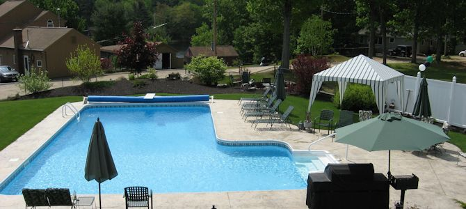 L Shape Swimming Pools Snyder Divi