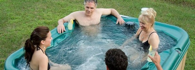 Lose Weight While Relaxing in your Hot Tub!